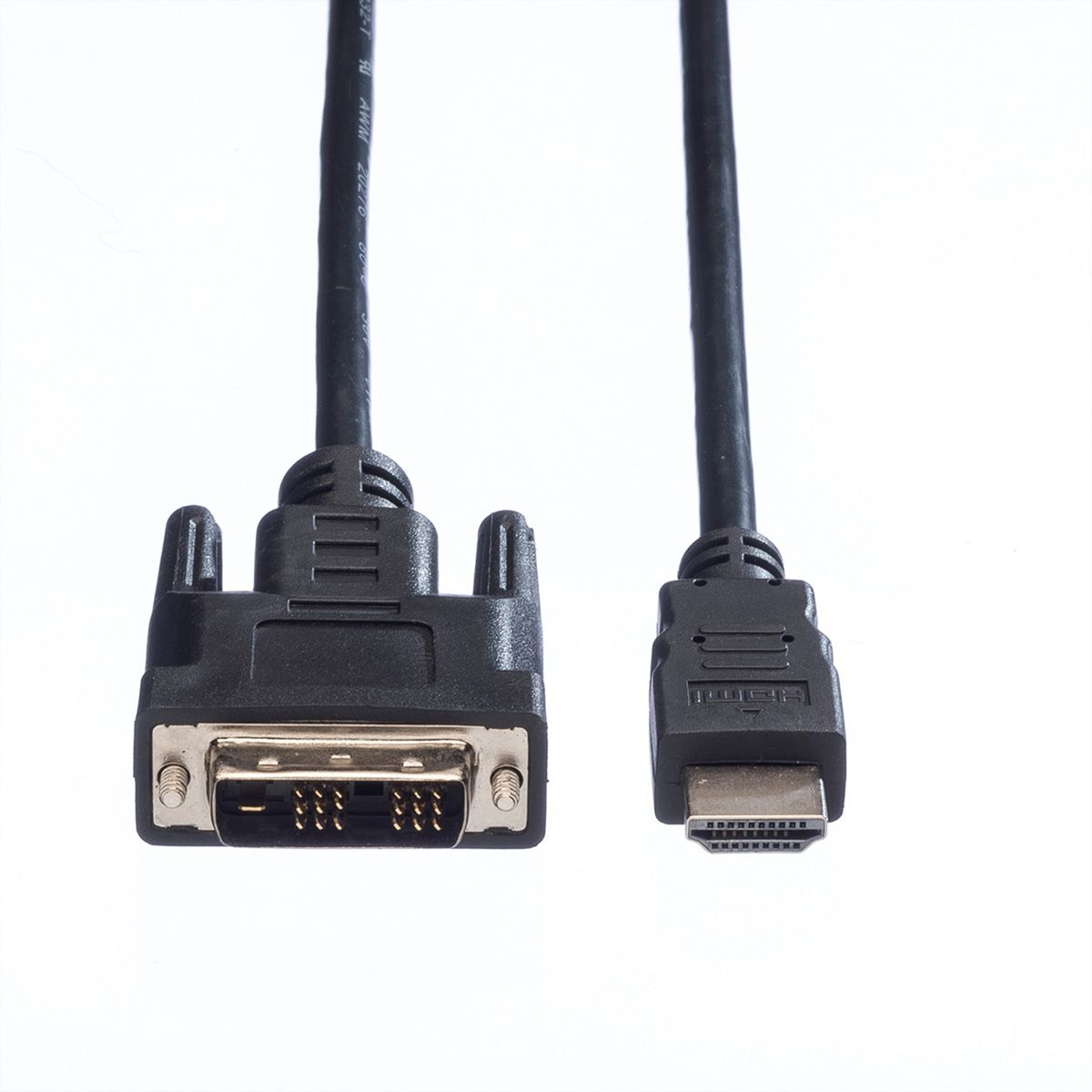 VALUE Kabel DVI (18+1) ST - HDMI ST, 2,0 m - SECOMP GmbH